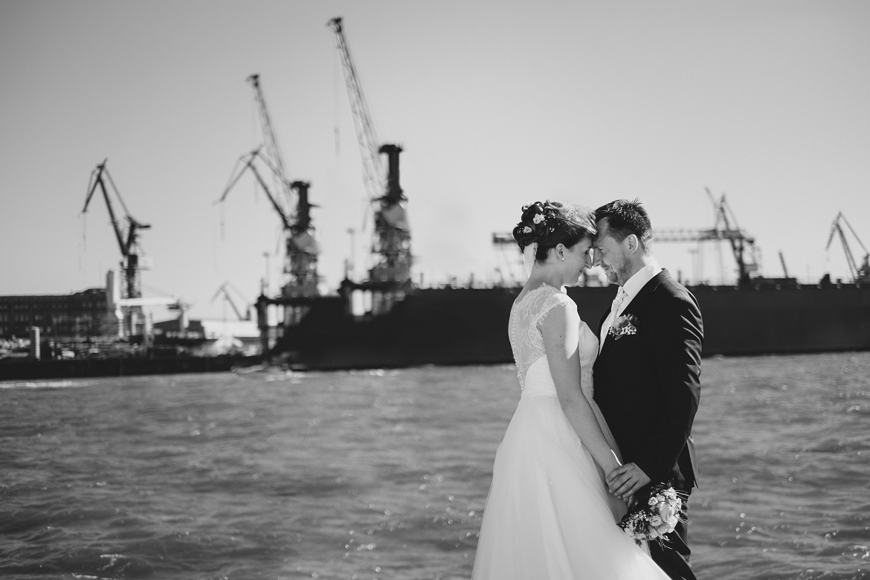 Scheib Hochzeitsfotograf Hochzeit Hafen Hamburg