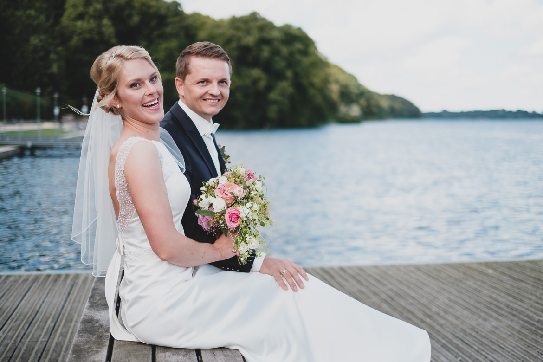 Scheib Hochzeitsfotografie Brautpaar Ihlsee