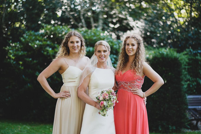 Scheib Hochzeitsfotografie Braut mit Brautjungfern (2)