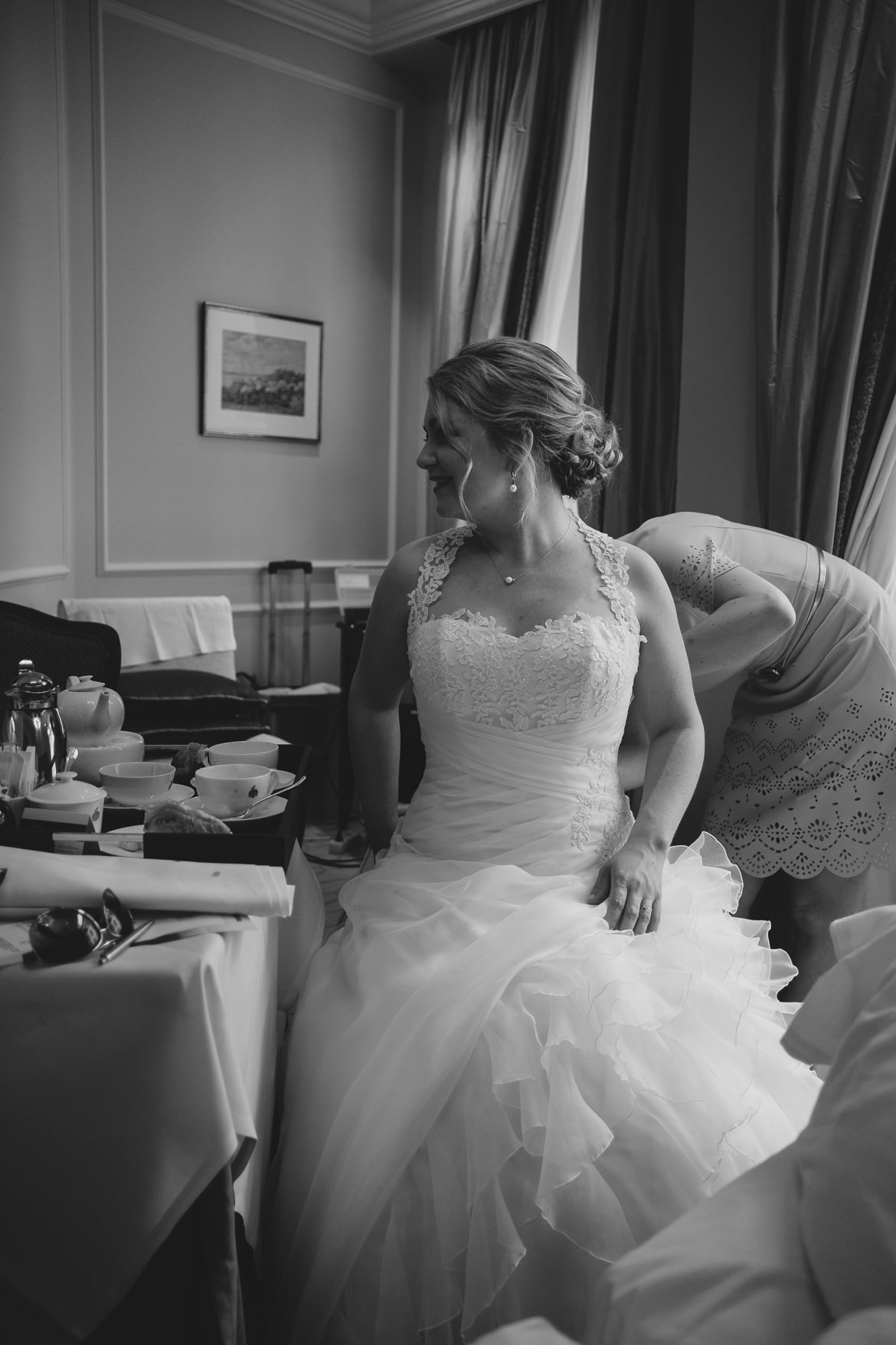 Brautvorbereitung im Hotel Vier Jahreszeiten